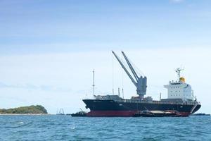 stort lastfartyg