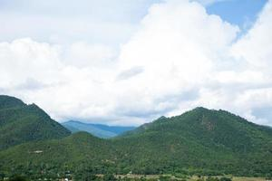 berg och skogar i Thailand