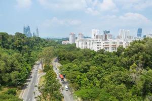 road park i singapore foto