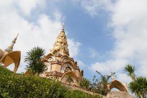 wat phra buddhistiska kloster i Thailand foto