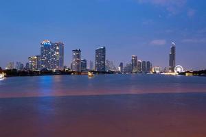stadsbilden i Bangkok foto