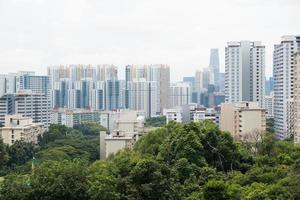 stadsbild i singapore foto