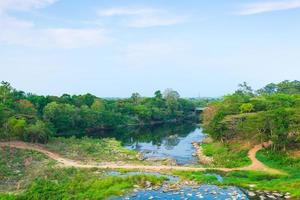 floden i Thailand foto