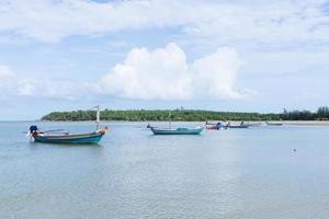 fiskebåtar i Thailand