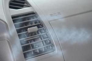 luftkonditionering i bilen foto