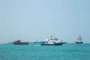 fartyg på havet foto