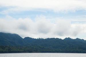 landskap i Thailand foto