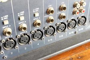 plugin-program för ljudmixer foto