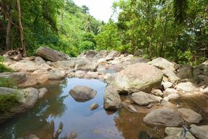 flod på koh samui, thailand foto