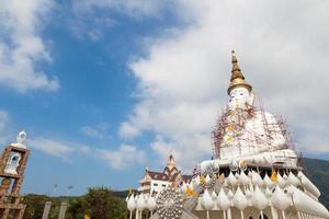 stor buddha staty i wat pha, thailand foto