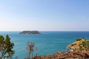liten ö nära phuket