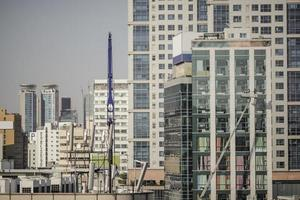 Seoul, Sydkorea, 2020 - Skyskrapor i Seoul foto