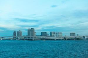 stadsbilden i tokyo staden foto