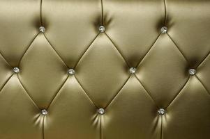 gyllene lädersäte