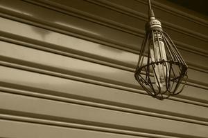industriellt utomhusljus foto