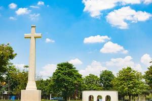 korsa på kyrkogården i bangkok