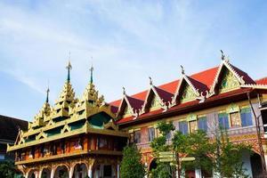 tempel i Thailand foto