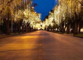 gata med ljus