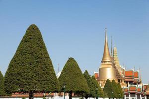 wat phra kaew tempel i bangkok