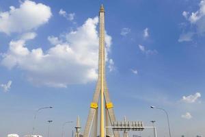 rama viii bridge i bangkok, thailand foto