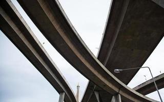 lindningskurva broar foto