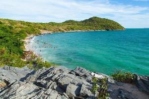 utsikt över ön i Thailand