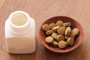 örtmedicin i piller foto