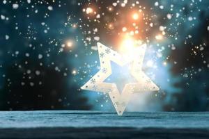 stjärna och ljus