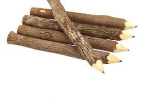 naturliga träpennor foto