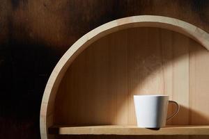 stilleben av kaffekopp foto