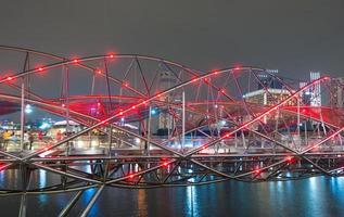 helix bridge i singapore foto