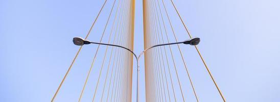 lampor på Rama VIII-bron foto