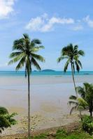 sommarstrand i Thailand foto