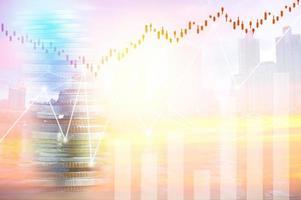 finans, vinst, kapitalbank och investeringskoncept