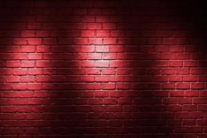 röd tegelvägg bakgrund foto