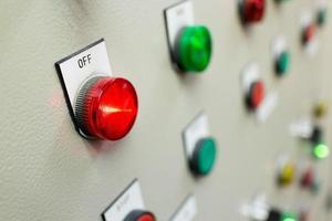 brand kontrollpanel knappar