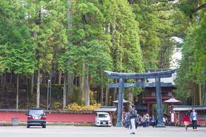 nikko toshogu tempel för helgedom i tokyo, 2016 foto
