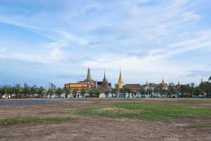 wat phra kaew tempel i bangkok foto