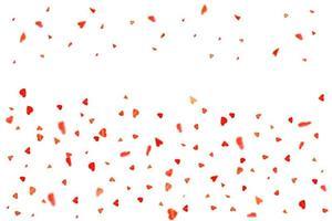 rött hjärta dekor