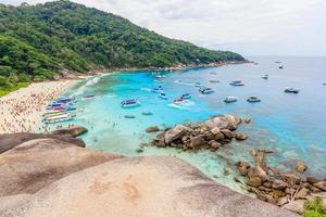 synvinkel på similan island, phuket, thailand