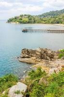 stränder på phuket ön, thailand