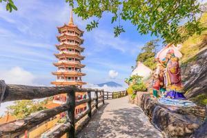 Chin swee tempel, nära Kuala Lumpur, Malaysia foto