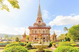 tempelchitararam i Phuket-provinsen, Thailand foto