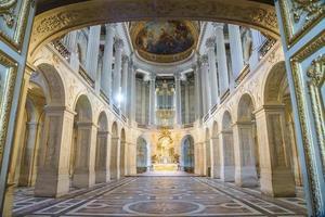 stor hall balsal i Versaille Palace, Frankrike