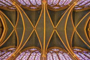 Sainte Chapelle i Paris, Frankrike foto