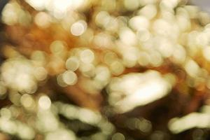 guld bokeh bakgrund foto