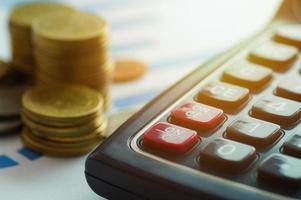 bank- och redovisningskoncept