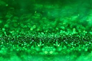 grön glitter abstrakt bakgrund foto