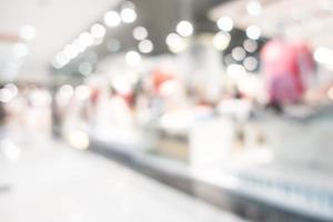 abstrakt suddig köpcentruminredning