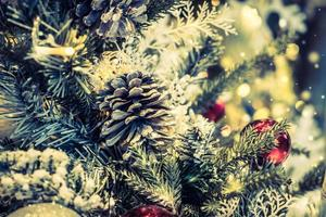 jul dekoration bakgrund